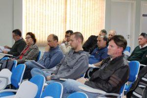 Docentes da Unicentro participaram do evento.