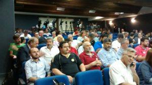 Sindicatos participaram de reunião com o Governo.